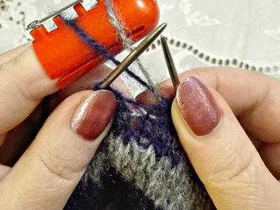 Устройство для вязания жаккардовых узоров