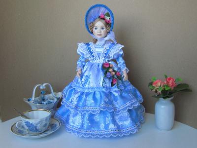 Кукла на чайник Весна.
