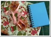 Обложки для документов, книг - Обложка для блокнота своими руками - красиво и просто
