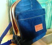Мастер-класс - Рюкзак из джинсов своими руками