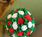 Мастер-класс - Шар-подвеска Розы