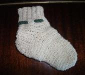 Мастер-класс - Пинетки, носочки