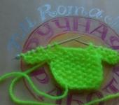 Мастер-класс - Мини свитерок для открыток