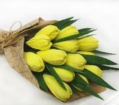 Мастер-класс - Букет тюльпанов с конфетой внутри