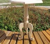 Мастер-класс - деревянный декоративный столик