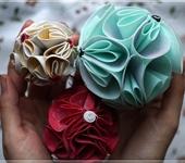 Мастер-класс - Цветочные шары из фоамирана