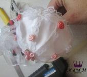 Мастер-класс - Изготовление нежного зонтика для игрушки
