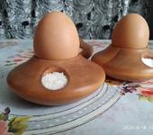 Мастер-класс - Деревянная подставка для яиц