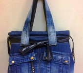 Мастер-класс - Дорожная сумка из джинсов