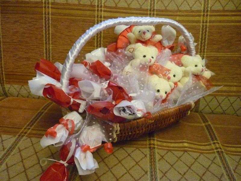 Сладкие подарки: на день рождения, на свадьбу — купить в ...
