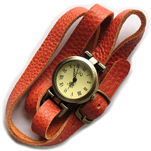 Браслеты - Кожаные браслеты для часов в 2-3 оборота вокруг руки - Автор: Nina Ninq