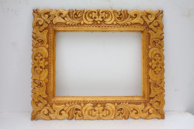 Как из дерева сделать рамку для картины