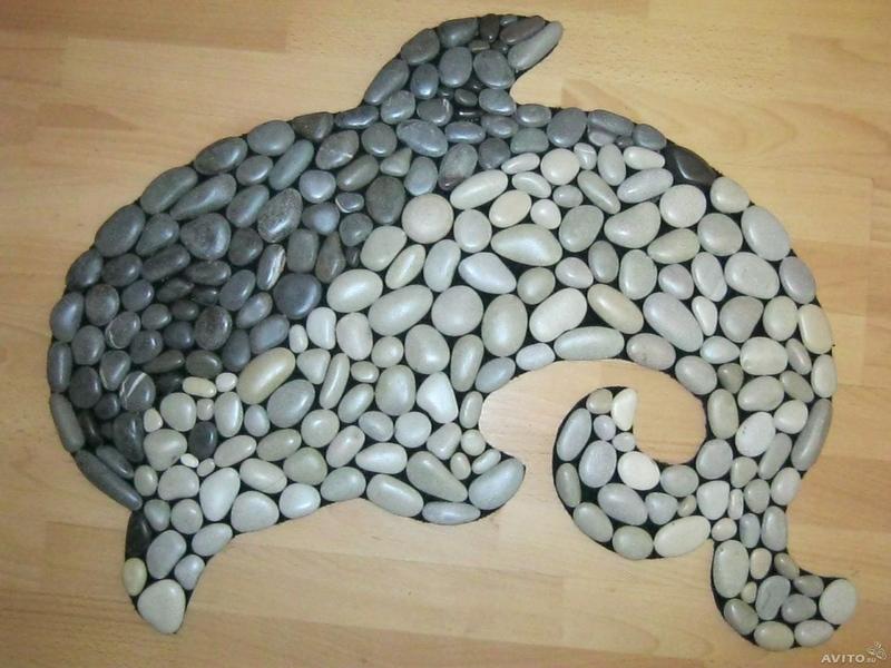 как делать рисунки на камне