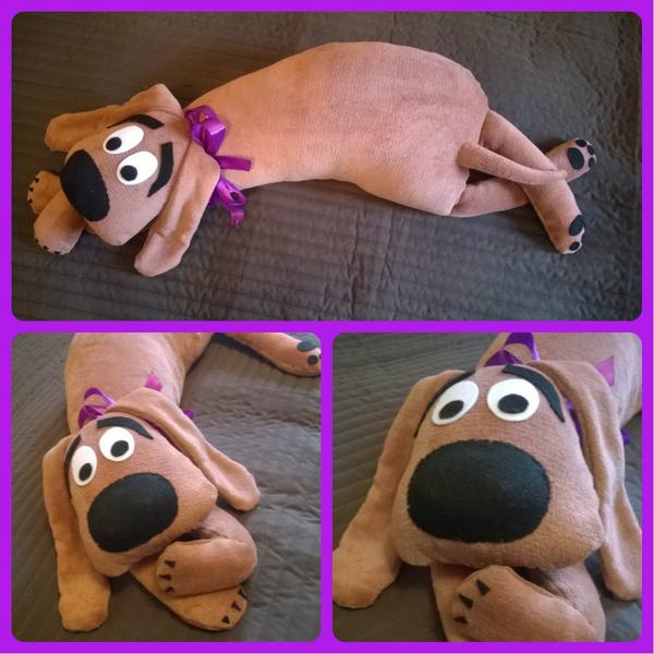 Сшить игрушку подушку собака