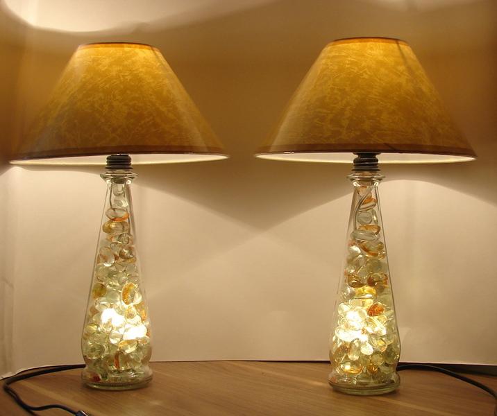 Как украсить светильник бра своими руками 80