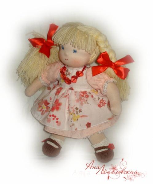 Вальдорфские куклы - Настёна-Ластенка - Автор: Аня Лепаловская
