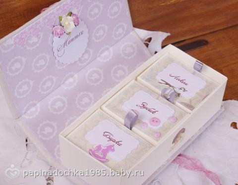 Коробка своими руками на рождение ребенка