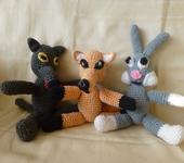Сказочные персонажи - волк,лиса и заяц