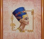 """Вышитые картины - Вышивка крестиком """"Египтянка"""""""