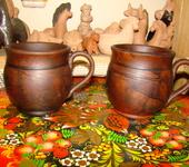 Кружки, чашки - кружки и чашки из глины