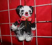 Вязаные куклы - Забавный котик