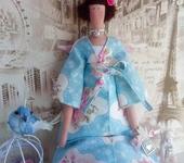 Куклы Тильды - Тильда - Ангел с птицей