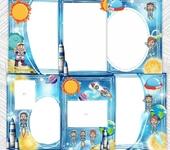 """Фотография, шаржи, коллажи - Портфолио для детского сада """"Космос"""". Цифровой файл!"""