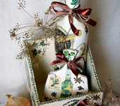 Предметы для кухни - Короб для хранения специй, декоративная бутылочка