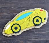 Развивающие игрушки - Пазл в рамке «Суперкар»