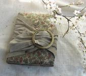 Оригинальные подарки - Блокнот ручной работы из натуральной замши