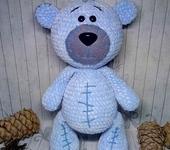 Вязаные куклы - медвежонок