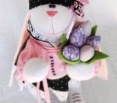 Зверята - Зайка с тюльпанами