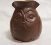 Чайники, кофейники - Турка керамика Сова