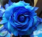 Одежда и аксессуары - сине- голубое облако