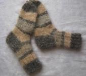 Носки и гольфы - носки из собачьей шерсти ручной работы