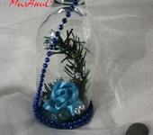 Оригинальные подарки - Цветочная композиция в бокале