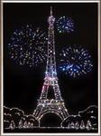 Картины со стразами - Париж