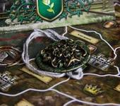 Кулоны, подвески - Подвеска с золотой розой дома Тирелл