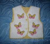 Одежда для девочек - Жилет для девочки
