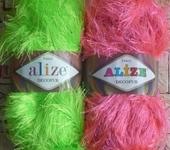 Шитье, вязание - Alize Decofur (травка)