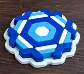 Развивающие игрушки - Пазл в рамке «Синий лёд»