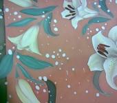 Шали, платки, палантины - Лилии