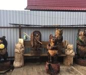 Скульптура - Деревянные скульптуры
