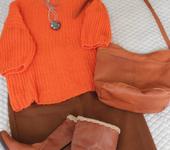 Кофты и свитера - Свитер из 100% кашемира, ручной работы