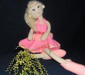 Вязаные куклы - Принцесса Яся