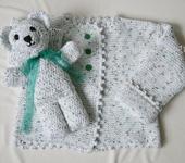 """Одежда для девочек - Комплект """"Медвежонок"""""""