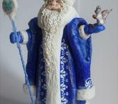 Народные куклы - Ватный Дедушка Мороз