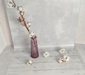 Фотография, шаржи, коллажи - Виниловый фотофон Светлая штукатурка (пол/стена) 50х100 см