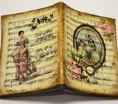 """Обложки для паспорта - Обложка для автодокументов """"Волшебная скрипка"""""""
