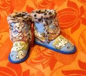 Обувь для детей - детские домашние сапожки